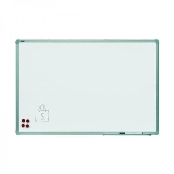 Magnettahvel 2X3 valge 150x100cm, alum. raam, keraamiline pind