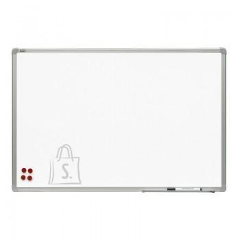 Magnettahvel 2X3 valge 240x120cm, alum. raam, matt keraamiline pind