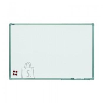 Magnettahvel 2X3 valge 150x100cm, alum. raam, matt keraamiline pind