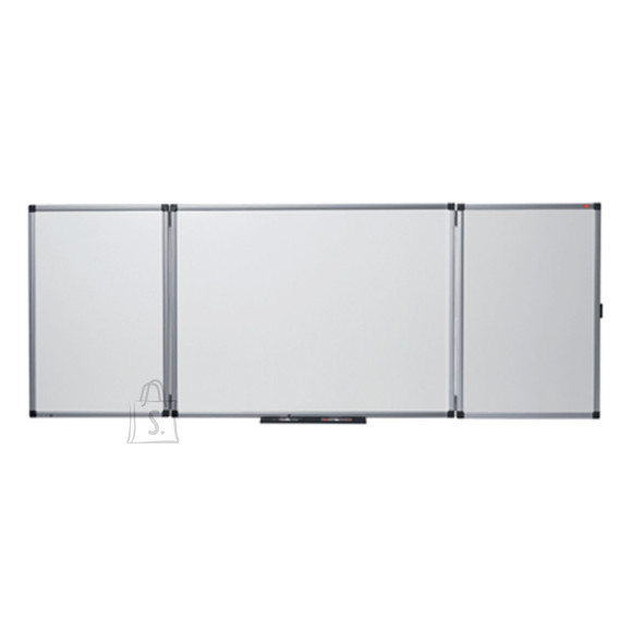 Magnettahvel NOBO Prestige, 150/300x120 cm, 5-osaline,alum.raam, email pind