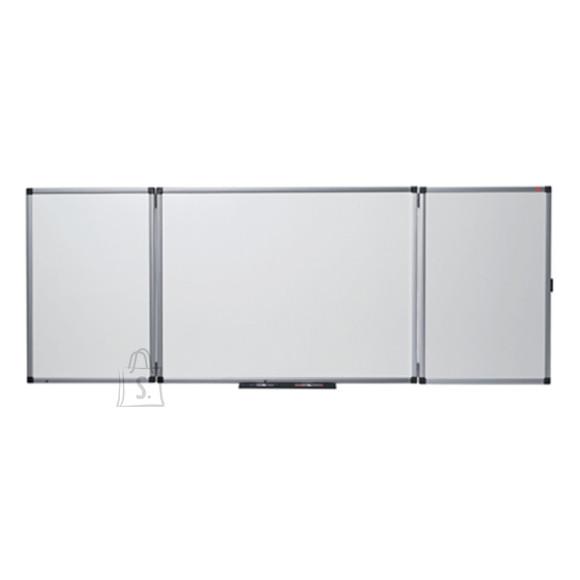 Magnettahvel NOBO Prestige, 120/240x90 cm, 5-osaline,alum.raam, email pind
