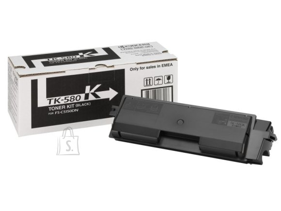 Tooner Kyocera TK-580K, 3500 lehte, must