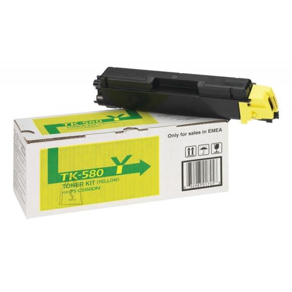 Tooner Kyocera TK-580Y, 2800 lehte, kollane