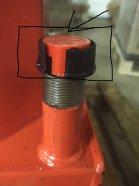 õlikork puulõhkumise masinale HECHT6414