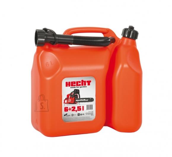 Hecht bensiini- ja õlikanister 6L + 2.5L