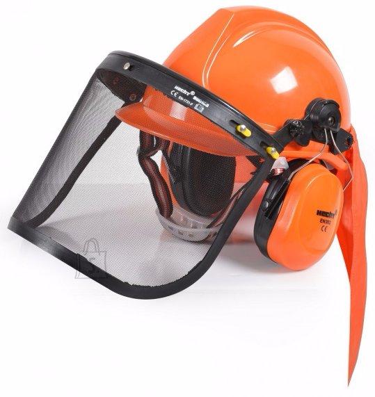 Hecht kaitsekiiver koos näokaitsme ja kõrvaklappidega