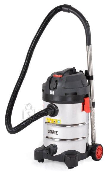 Hecht 8314Z tööstuslik tolmuimeja, kuivale ja märjale pinnale 30L