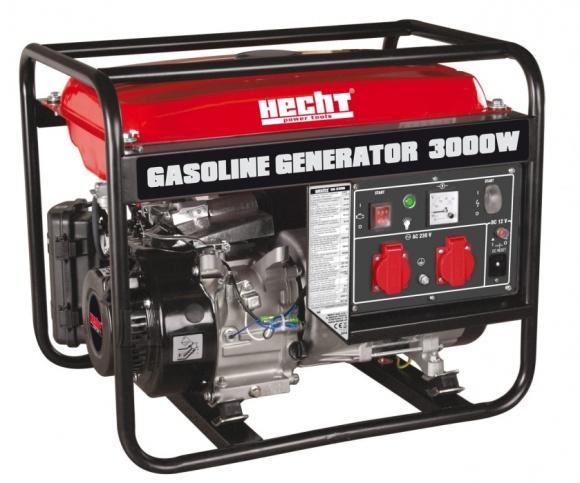 Hecht bensiinimootoriga generaator 2.6 kW