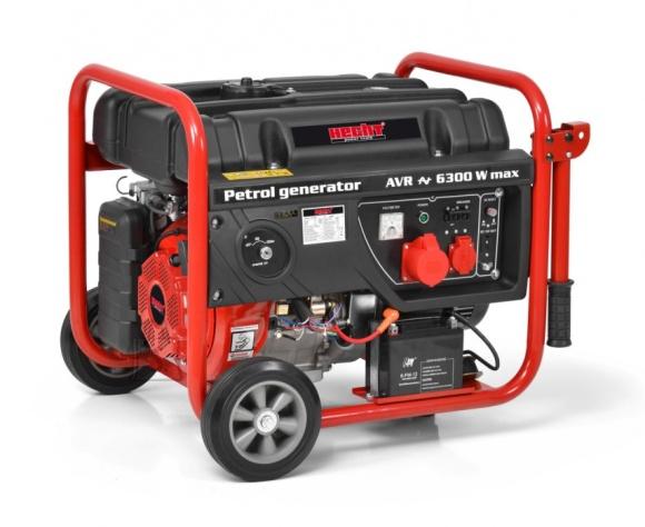 Hecht bensiinimootoriga generaator 5.8 kW