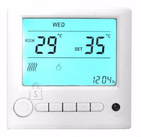 Hecht termostaat infrapuna küttepaneelile, puldiga