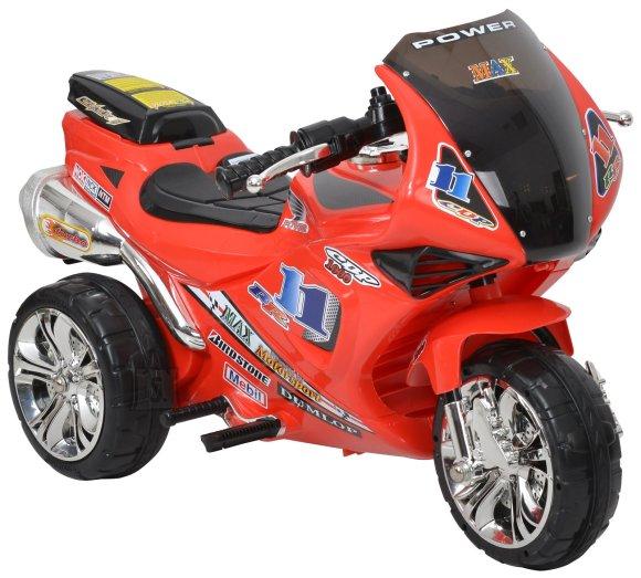 Hecht mootorratas lastele, akuga, kolme rattaga