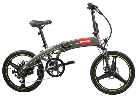 Hecht kokkupandav elektrijalgratas Compos