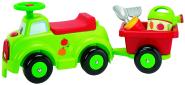 Ecoiffier pealistutav auto käruga