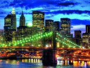 Ravensburger pusle Skyline NYC 1500 tk