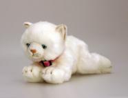 Keel Toys valge mängukass Misty 30 cm