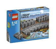LEGO komplekt City raudtee relsid
