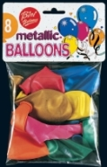 Bini Balloons õhupallid Metallik
