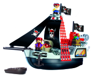 Ecoiffier piraatide laev