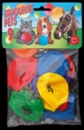 Bini Balloons Viborg õhupallid loomapiltidega