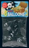 Bini Balloons Viborg õhupallid Piraat