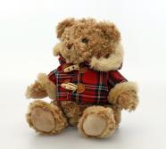 Keel Toys mängukaru Hamish ruudulise jakiga 20 cm
