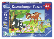 Ravensburger pusle Bambi 2 x 24 tk
