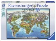 Ravensburger pusle Maailma kaart 2000 tk