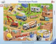 Ravensburger plaatpusle Ehitusmasinad 12 tk