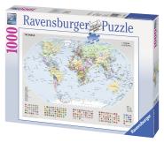 Ravensburger pusle Poliitiline maailmakaart 1000 tk