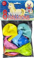 Bini Balloons Viborg õhupallid ükssarv 8 tk