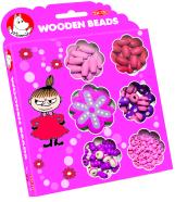 Tactic puidust roosad pärlid Muumi