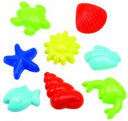 Ecoiffier liivavormide komplekt Mereloomad