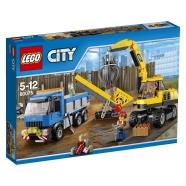 LEGO City Ekskavaator ja auto