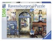 Ravensburger pusle Reis Pariisi 1500 tk