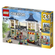 LEGO Creator Mänguasjade ja toidupood