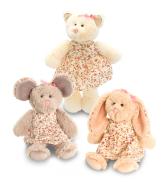 Keel Toys Belle Rose loomad kleitides