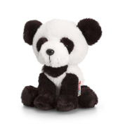 Keel Toys mänguloom panda Pippins 14 cm