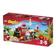 LEGO Dublo Disney Miki ja Minni sünnipäevarongkäik