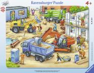 Ravensburger plaatpusle Suured tööautod 40 tk