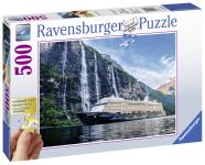 Ravensburger Ravensburger puzzle 500 XXL tk. Mein Schiff 4 im Fjord