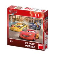 Dino Dino põrandapuzzle 24 tk. Cars