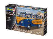 Revell Revell VW T1 SAMBA BUS LUFTHANSA 1:24