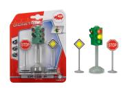 Simba mängukomplekt Valgusfoor ja liiklusmärgid