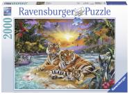 Ravensburger pusle Tiigrite perekond 2000 tk