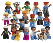 LEGO Education minifiguuride komplekt