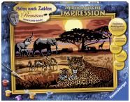 Ravensburger maalimiskomplekt Aafrika