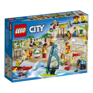LEGO City Inimeste komplekt - lõbus melu rannas