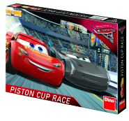 Dino lauamäng Cars 3: Piston Cup Race