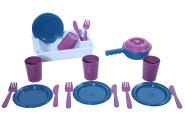 Plasto mängu toidunõud ECO lastele