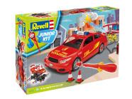Revell kokkupandav Junior Kit tuletõrjepealiku auto 1:20